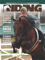 provided complements of California Riding Magazine