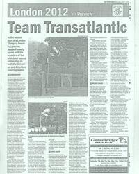 Team Transaltantic - The Irish Field